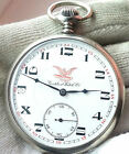 CORTEBERT Railroad OLD MECHANICAL POCKET WATCH SWISS MADE