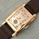 Vintage Gruen Precison 14K Yellow Gold Tank Style 21J Watch