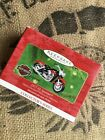 NEW Hallmark Harley Davidson Motorcycle Christmas Ornament 1957 XL Sportster
