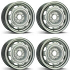 4 Alcar steel wheels 7300 60x14 ET45 4x100 for Volkswagen Polo Golf III Lupo Ve