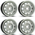 4 Alcar steel wheels 7500 60x14 ET45 4x100 for Volkswagen Polo Golf III Lupo Ve