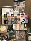 HUGE LOT 40 packages Scrapbooking Stickers and Embellishments RARE RETIRED