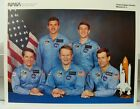 Official NASA Atlantis Space Shuttle Mission STS 51 J Crew 8 x 10 Photo