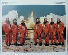 Official NASA Discovery Space Shuttle Mission STS 42 Crew 8 x 10 Photo