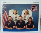 Official NASA Atlantis Space Shuttle Mission STS 37 Crew 8 x 10 Photo