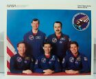 Official NASA Columbia Space Shuttle Mission STS 28 Crew 8 x 10 Photo