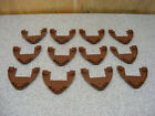 9 LEGO Boat Hull Bow Parts Lot Brown Pirate Ship 47404 6243 6210 10210
