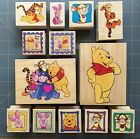 DISNEY WINNIE THE POOH  FRIENDS RUBBER STAMPS PICK YOUR FAVORITES
