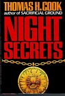NIGHT SECRETS by THOMAS H COOK NEWUNREAD SIGNED 1990 Perfect Condition