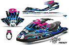 Yamaha Wave Runner Jet Ski Decal Wrap Sticker Graphics Kit 2002-2005 FRENZY BLUE