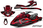 Jet Ski Graphic Kit Decal Wrap For Yamaha Wave Runner FX140 02-05 NIGHTWOLF RED