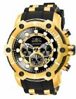 NICE Invicta Men 26751 Bolt Quartz Chronograph Black Dial Watch Stainless Steel!