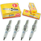 4pcs 2010 Honda SH150i NGK Standard Spark Plugs 149cc 9ci Kit Set Engine xp