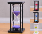 60 Minutes Sand Timing 1 Hour Watch Wood Color Sand Crafts Creative Home Decor
