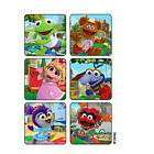 25 Muppet Babies Scenes STICKERS Party Favors for Birthday Treat Loot Bags