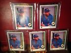 1989 Upper Deck Gary Sheffield Lot Of 5 Upside Down Short Stop, ERRORS Psa 10 ?