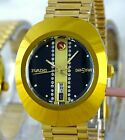 VINTAGE Style RADO Diastar Swiss Made Automatic Men's Gold/Diamond Watch $800 RV