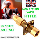 UK Bayonet LPG Filling Point to Calor Gas BOTTLE Adapter WITH NON RETURN VALVE