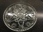 Early American Prescut - Star of David Anchor Hocking - 2 Piece Chip And Dip!!!