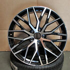 Audi R8 Mesh STYLE 19x85 5x112 ET32 Black Machined Face WHEELS set of 4 RIMS