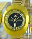 VINTAGE Style RADO Diastar Swiss Made 1970 Automatic Men's Gold/Diamond Watch.
