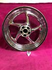 Harley Dyna 2006 up 17 X 45 Rear Chrome Genuine Wheel Mag New Blem Superglide