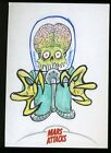 Top 10 2012 Topps Mars Attacks Sketch Card Sales 20