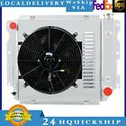 3 Row Radiator +Shroud+Fan For Jeep 1987 2002 Wrangler TJ YJ Chevy V8 Conversion