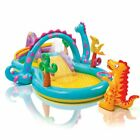Kids Inflatable Play Center Pool Outdoor Yard Lawn For Children Toddler Splash