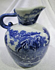 Blue and White pitcher
