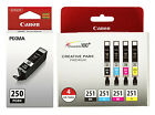 GENUINE Canon PGI 250 CLI 251 Setup Ink Cartridge 5 Pack