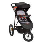Schwinn Interval 2-in-1 Jogging Stroller with Locking Front Wheel Oriole