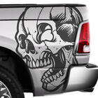 Skull Vintage Tattoo Ram Chevy Ford Truck Vinyl Decal Side Bed Graphic Tailgate
