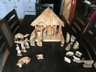 ANRI KUOLT 6 INCH NATIVITY SCENE WITH 23 Figurines