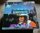 STAR WARS TOPPS WIDEVISION sealed box new trading cards wax packs