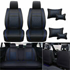 Universal Car Seat Covers Set Pu Leather Protector Frontrear 5 Seats Cushions