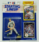 JOSE CANSECO - Starting Lineup MLB SLU 1990 Action Figure & 2 Cards OAKLAND A's