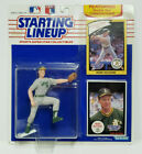 MARK MCGWIRE - Starting Lineup MLB SLU 1990 Action Figure & 2 Cards OAKLAND A's