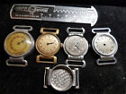4 DRIVER MOVEABLE LUG WWII ERA WINDUP WATCHES FOR RESTORATION LIBAN KELTON