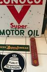 RARE VINTAGE ORIGINAL ADVERTISING GAS OIL SIGN THERMOMETER SHELL not texaco