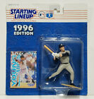 DEREK JETER - Starting Lineup SLU MLB 1996 Action Figure & Card NEW YORK YANKEES