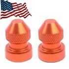 Tire Valve Stem Caps Tyre Wheel Dust Adapter Cover Fit Ducati 1199/899 Panigale