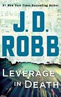 J. D. Robb - Leverage In Death (In Death Series) 9781978600515 (CD Used Good)