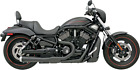 Bassani Road Rage Exhaust for 2007 17 Harley VRSC Models Black 1V22JB