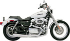Bassani Road Rage Exhaust for 1986 03 Harley Sportster Models Chrome 14212J