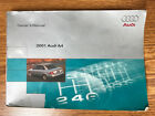 2001 Audi A4 1.8L 4-Cyl/2.6L 6-Cyl Owner's Manual OEM