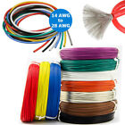 14 Awg 28awg Silicone Wire Cable Copper Line Tinned Flexible Stranded 5m 10m