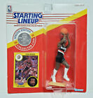 CLYDE DREXLER - Starting Lineup SLU 1991 NBA Figure, Coin & Card - TRAILBLAZERS