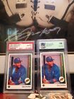 LOT (2) Gary Sheffield 1989 Upperdeck PSA 10 + Error Upside Down SS Gem Mint 10