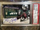 Geno Smith Signs Football Card and Autograph Deal with Panini America 15